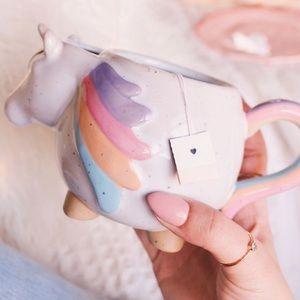NWOT Unicorn Tea Mug